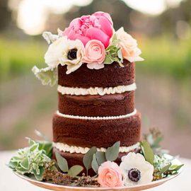 کیک-عروسی-ایرانی-شکلاتی