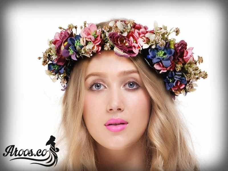 آموزش تاج های دست ساز تل، گل موی عروس