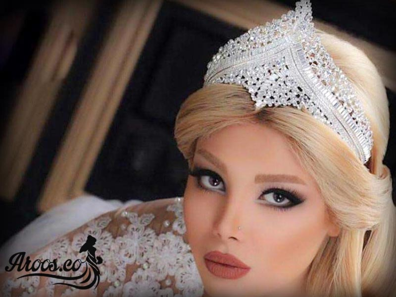 عکس مدل تاج عروس زیبا جدید