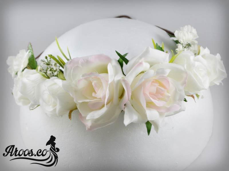 تاج و گل سر عروس