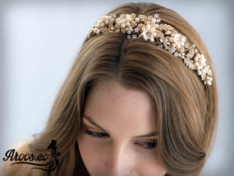 مدل تاج و تل عروس فانتزی و پرنسسی زیبا