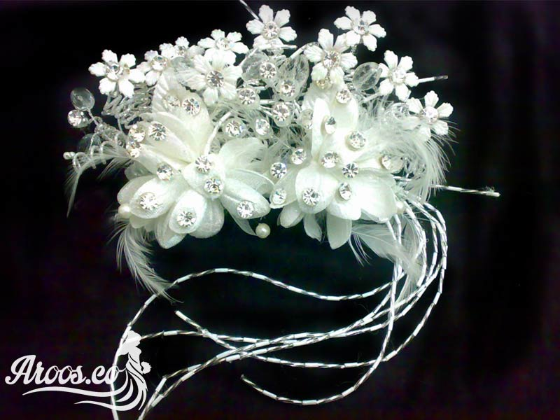 مدل تاج و تل و گل سر عروس ۲۰۱۷