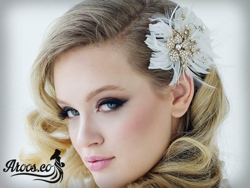 عکس از مدل تاج عروس زیبا جدید