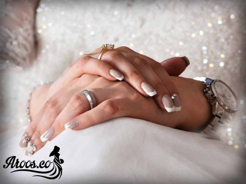 مدل فرنچ ناخن عروس
