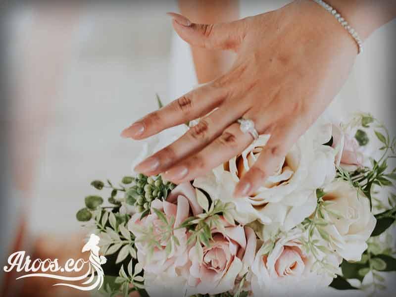 مدل ناخن فرنچ عروس 2017