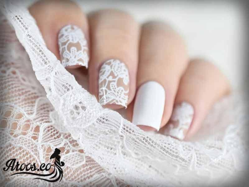 مدل لاک ناخن عروس و انواع فرنچ زیبا و جدید