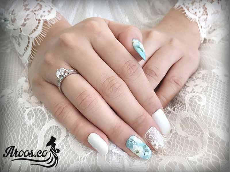 طراحی ناخن عروس 2016