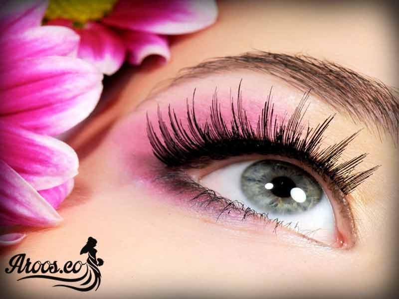 گریم و آرایش چشم عروس