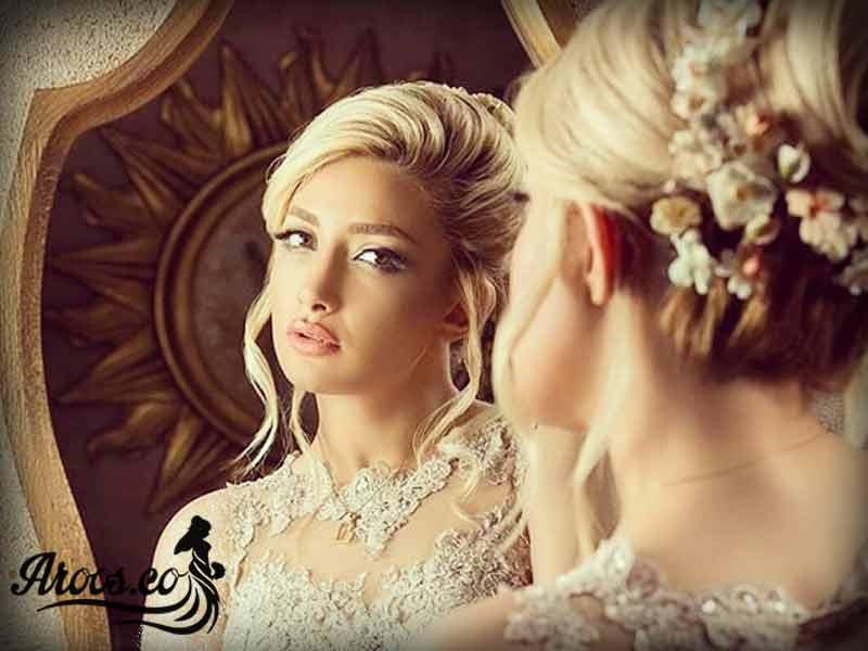 گریم برای آرایش صورت عروس