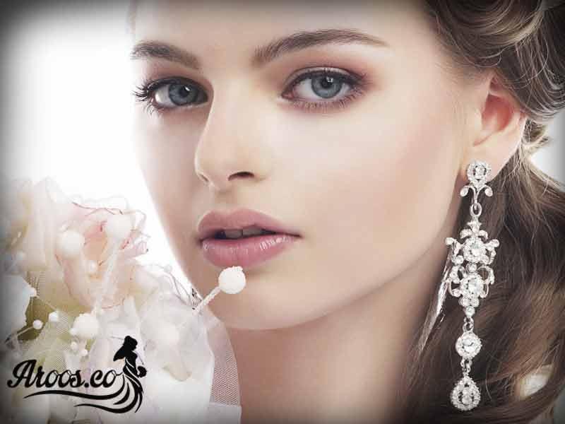 آرایش عروس خوشگل اروپایی