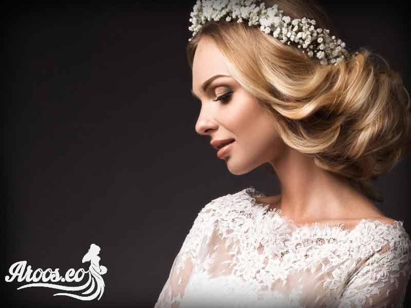 آرایش عروس ساده اروپایی