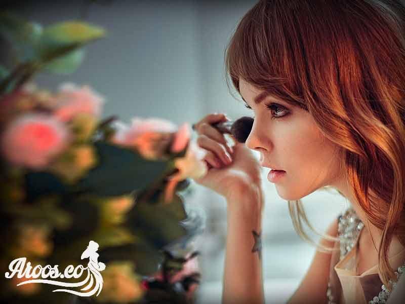 آموزش مدل آرایش عروس