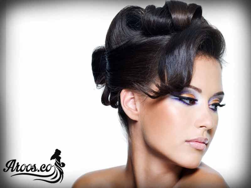 آموزش مدل آرایش عروس اروپایی