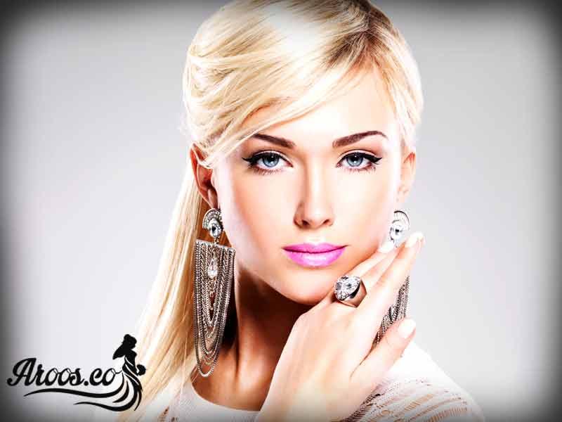 مدل میکاپ عروس اروپایی
