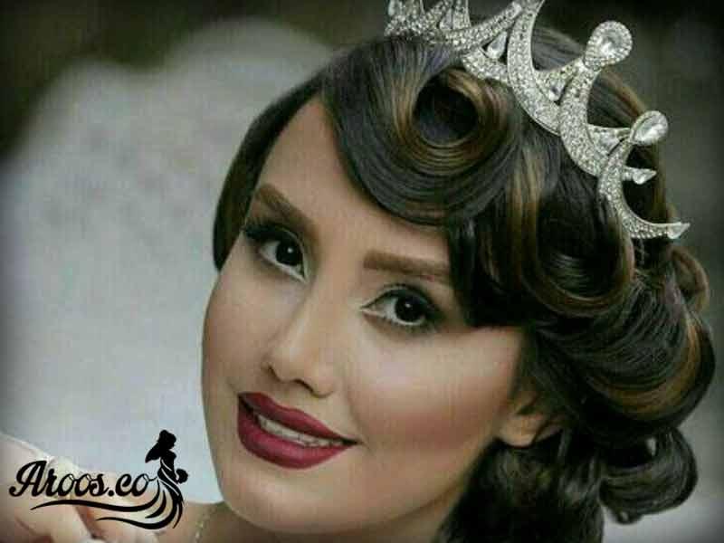 عروس ایرانی قبل و بعد ارایش