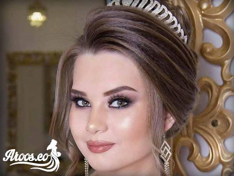 آرایش عروس اروپایی جدید