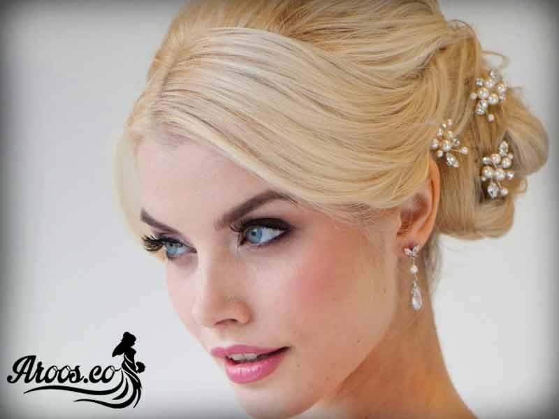 ارایش عروس با موی مصنوعی