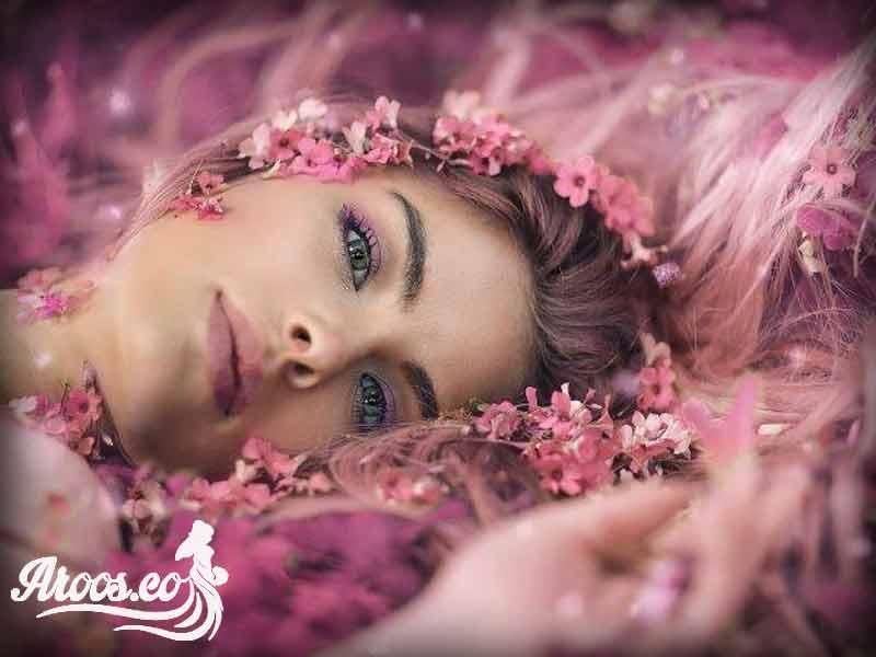 آرایش میکاپ مدل عروس
