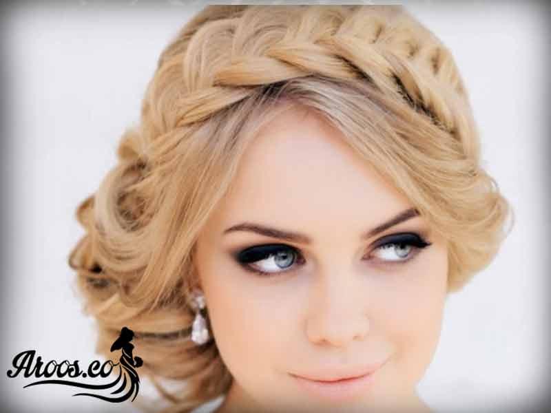 زیباترین میکاپ صورت اروپایی عروس