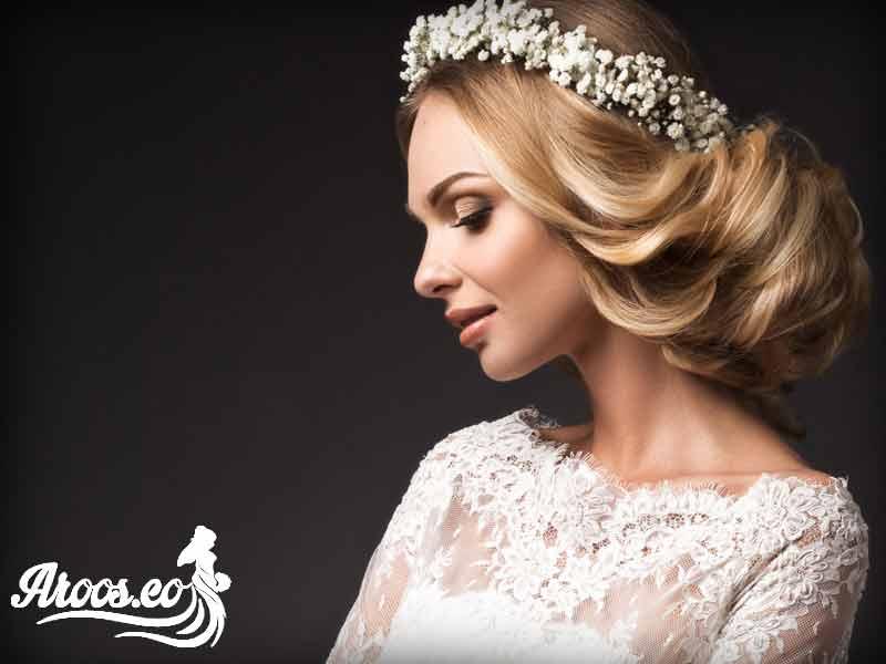 میکاپ عروس ساده