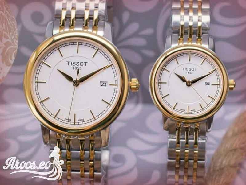 Tissot مدل ساعت عروس و داماد