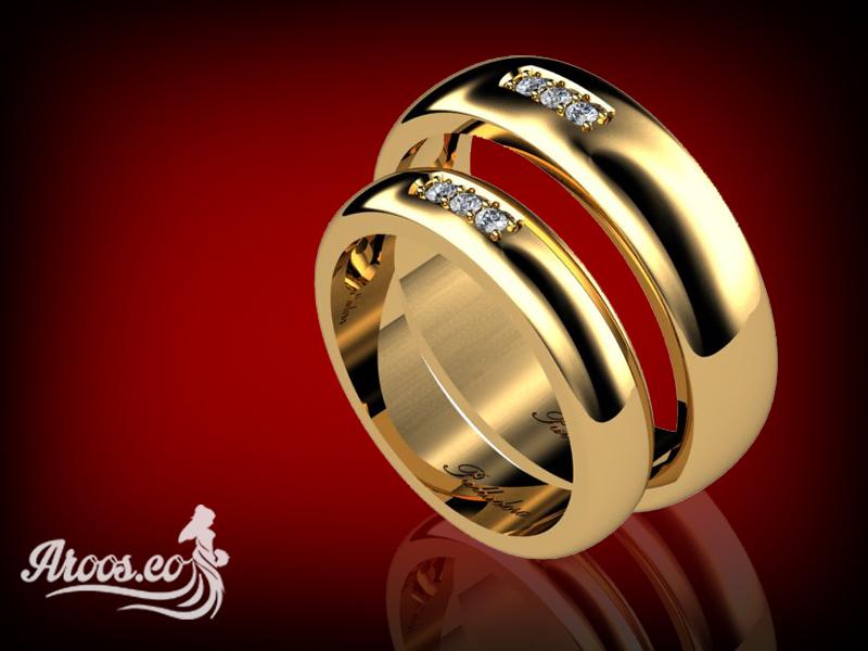 حلقه ازدواج شیک و جدید