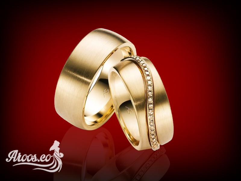 مدل حلقه ازدواج طلا