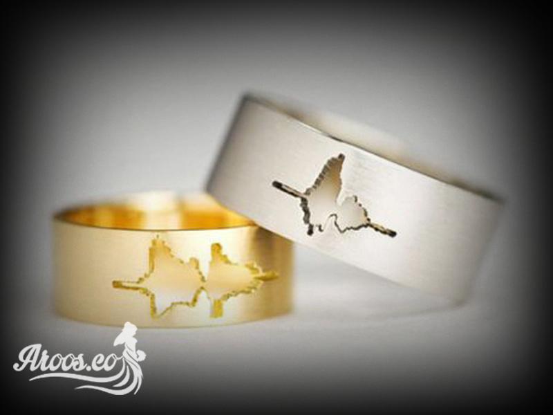 خرید آنلاین حلقه ازدواج طلا