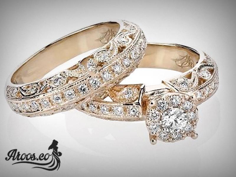 مدل حلقه ازدواج الماس