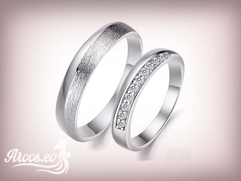 انگشتر نقره حلقه ست ازدواج