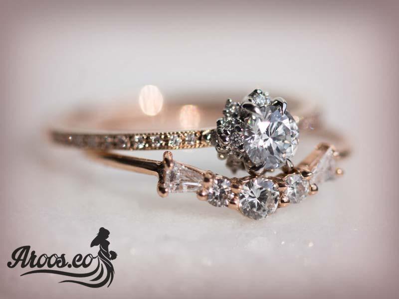 حلقه ازدواج قشنگ