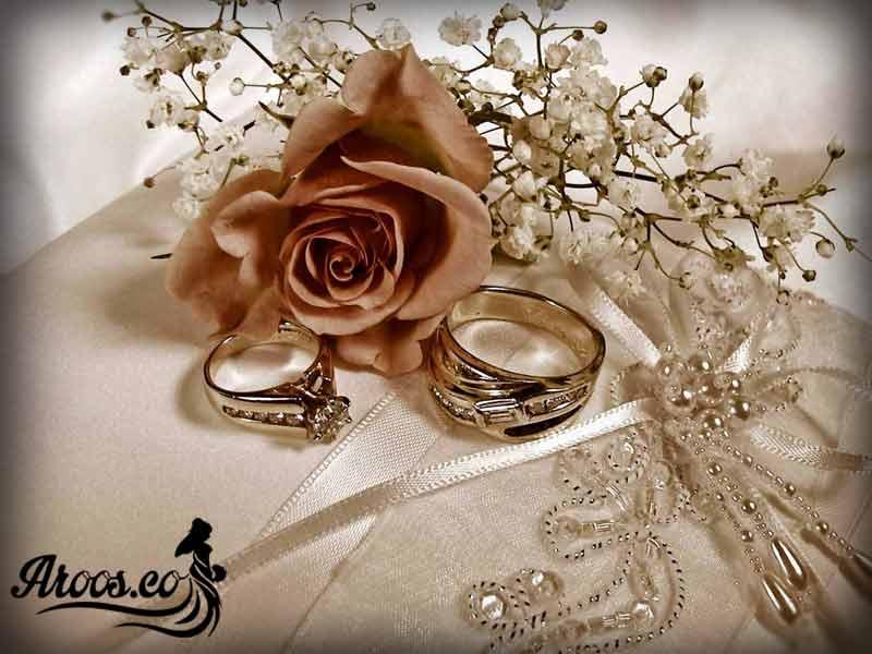 حلقه ازدواج زیبا