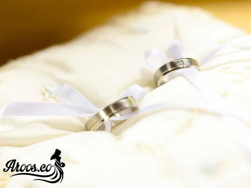 حلقه ازدواج جواهر