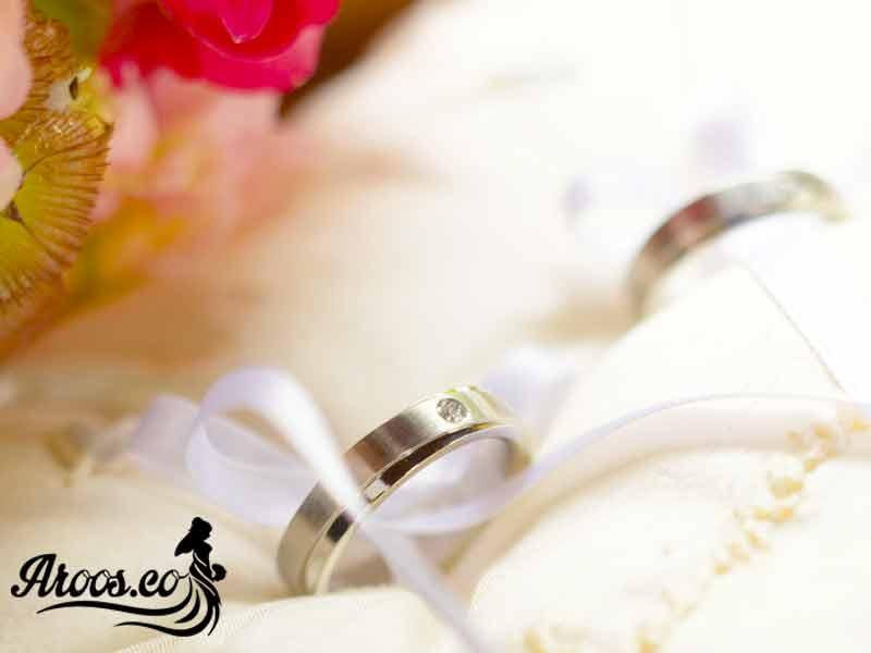 حلقه ازدواج برلیان