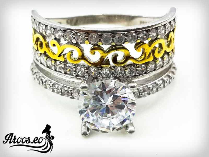قیمت انگشتر تک نگین الماس