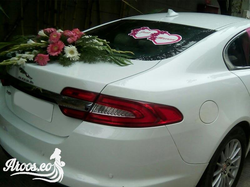 تزئین ماشین عروسی لاکچری و شیک
