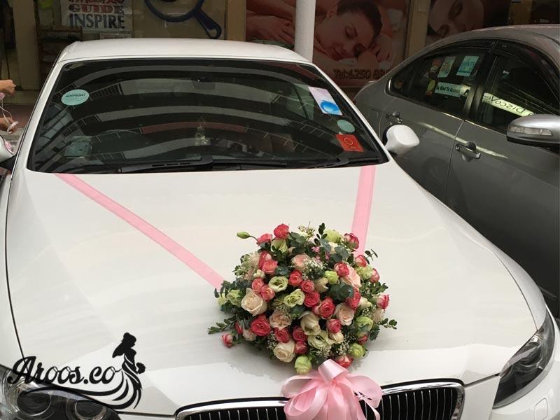 ماشین عروس ایرانی با کلاس و شیک