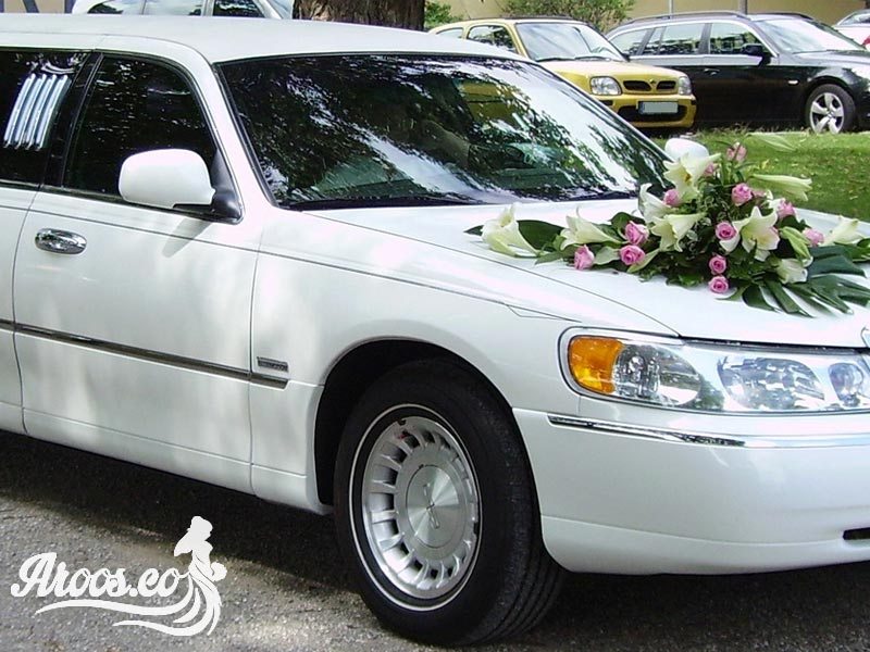 ماشین عروس شیک و خیلی جدید