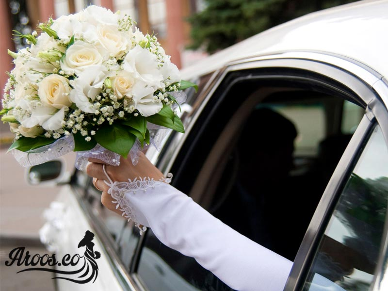 ماشین عروس شیک و جدید