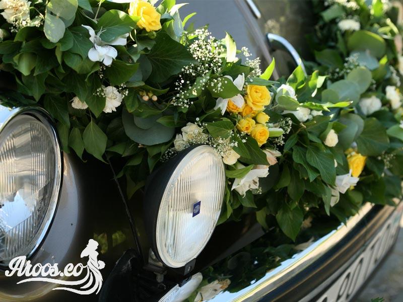 ایده زیبا تزیین ماشین عروس