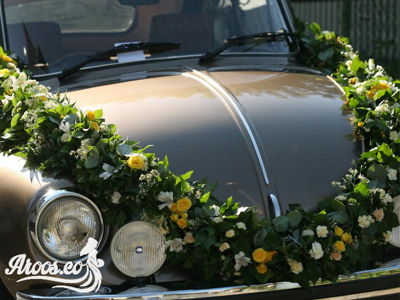 ایده های زیبا تزیین ماشین عروس