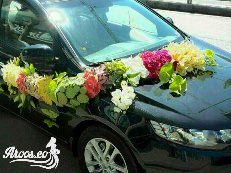 گل و ماشین عروس