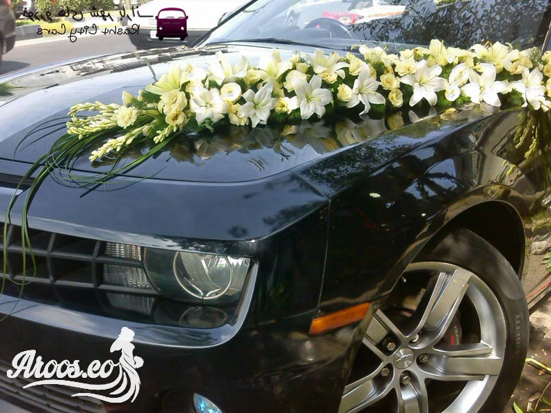 ماشین عروس سیاه رنگ