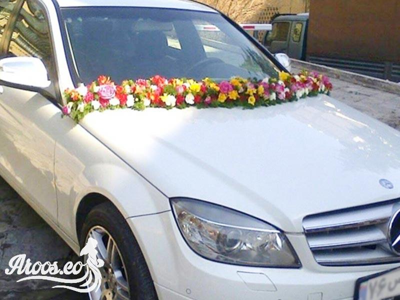 کرایه ماشین عروس با گل آرایی