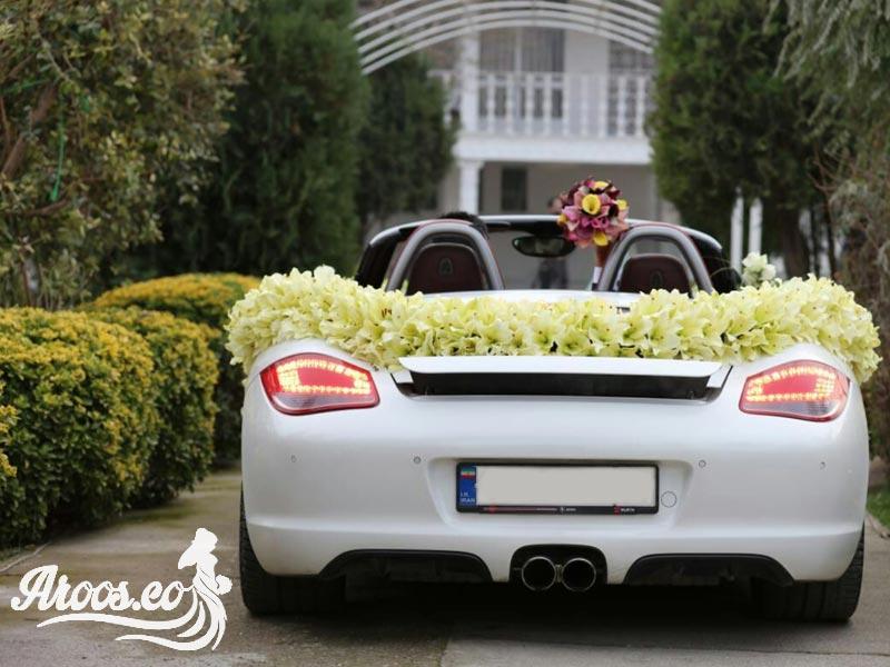 تزئین ماشین عروس ساده و بهترین رنگ