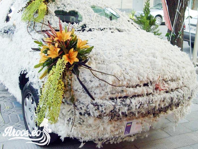ایده های جذاب درباره ی ماشین عروس