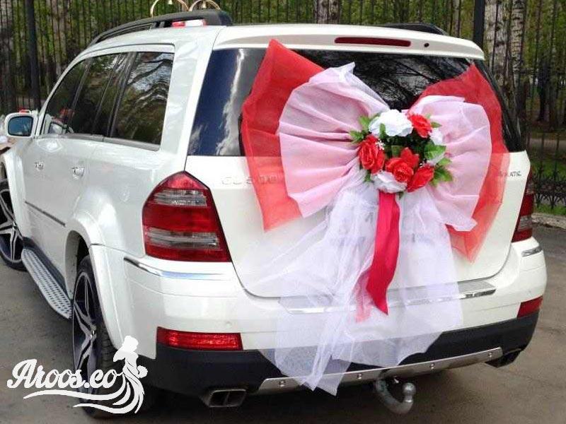 مدل گل ماشین عروس شاسی بلند