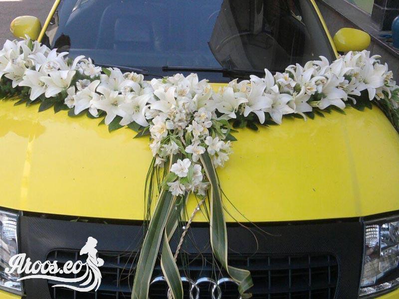 رنگ و تزیین مناسب ماشین عروس