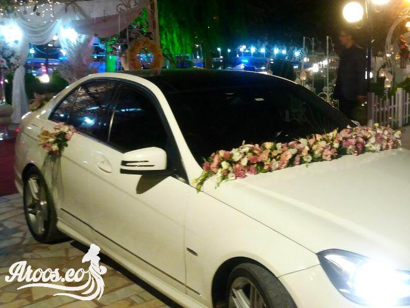 جدیدترین تزیین ماشین عروس لوکس 96