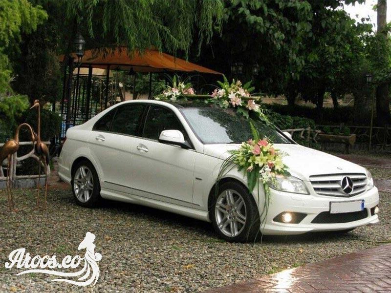 عکس ماشین عروس بنز جدید